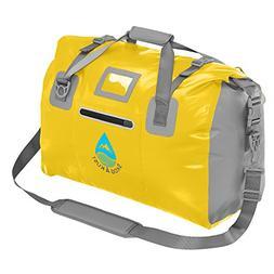 DuffelSak Waterproof Duffel Bag Shoulder  Splash Proof Outer