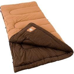 Coleman Dunnock Cold Weather Adult Sleeping Bag, Big Tall