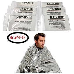HIKE-TEK Emergency Blanket  - Heat Retention Outdoor Surviva