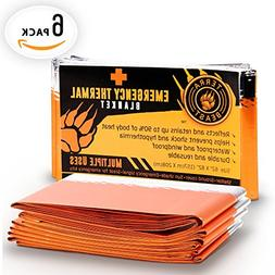 Emergency Blanket XL , 20% Larger Than Other Brands For Maxi