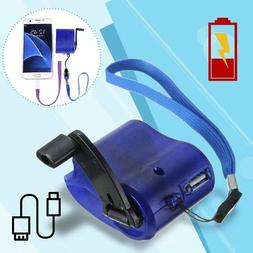 Emergency-Power SOS USB Hand Crank Phone Charger Camping Bac