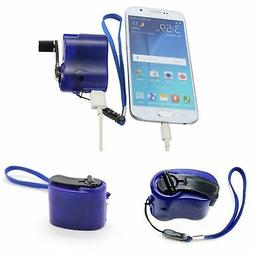 Emergency Power USB Hand Crank SOS Phone Charger Camping Bac