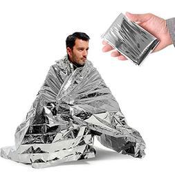 Emergency Silver Mylar Thermal Compact Waterproof Blankets f