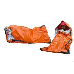 Emergency Sleeping Bag Camping Hiking Gear Warm Thermal Wate