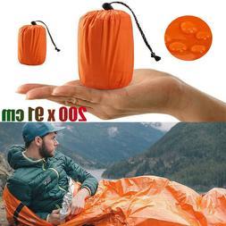 Emergency Sleeping Bag Camping Hiking Gear Warm Thermal Wate
