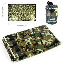 Emergency Sleeping Bag Thermal Survival Blanket Gear for Out