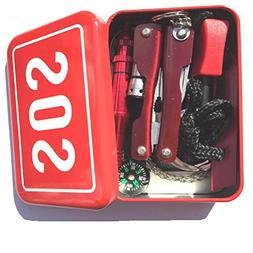 Emergency Survival Kit, Inkach Multifunctional Emergency Gea