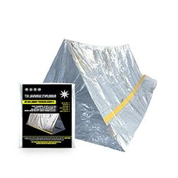 Rudolph's Emergency Survival Shelter Tent | 2 Person Mylar T