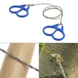 Emergency Travel Survival Gear Stainless Steel Wire Saw Outd