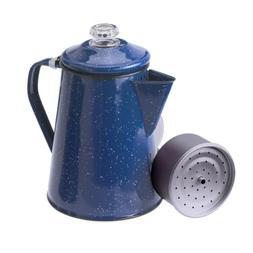 GSI Enamelcoffee Perc 12 Cup Blue 15155