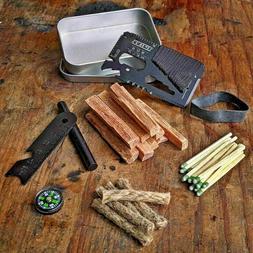 Fatwood Fire Starting Sticks Ferro Rod Survival Gear Camping