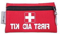 Travel Size First Aid Kit: 100 Piece Small First Aid Travel