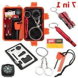 First Aid SOS Emergency Survival Kits Equipment Gear Outdoor