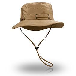 Peicees Fishing Hat Summer Sun Boonie Hat UPF 50+ UV Protect