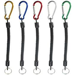 Coolrunner 5pcs/lot Fishing Lanyards Boating Multicolor Rope