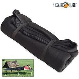 Texsport Fleece Black Sleeping Bag