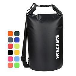 MARCHWAY Floating Waterproof Dry Bag 5L/10L/20L/30L/40L, Rol