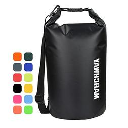MARCHWAY Floating Waterproof Dry Bag 5L/10L/20L/30L/40L, Rol