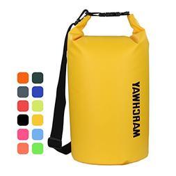 MARCHWAY Floating Waterproof Duffle Dry Bag 5L/10L/20L/30L,