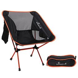 LetsFunny Folding Camping Chair Portable Lightweight Backpac