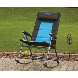 Guide Gear Folding Portable Oversized Rocking Camp Chair, 50