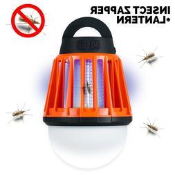 <font><b>Camping</b></font> Lantern and Bug Zapper Rechargea