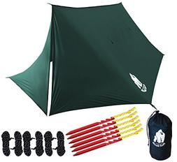 Chill Gorilla Fortress Hammock RAIN Fly with 4 Doors. Tent T
