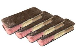 Freeze Dried Ice Cream Food Neapolitan 4 pack Classic Vanill
