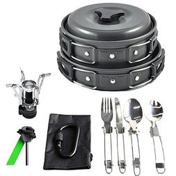 Generic g Cookware Cooking Equipment Cookwa Kit Outdoor Camp