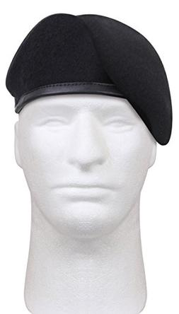 Rothco G.I. Type Inspection Ready Beret, Midnight Navy Blue,