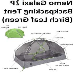 Nemo Galaxi 2P Backpacking Tent and Footprint