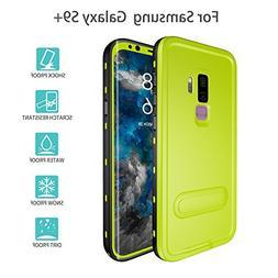 Galaxy S9 Plus Waterproof Case, UZER Shockproof IP68 Certifi