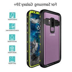 Galaxy S9 Plus Waterproof Case, UZER Transparent Series Shoc