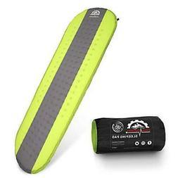 Gear Doctors- Self Inflating Camping Sleeping Pad - 4.3 R-Va