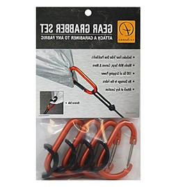 """Tribe One Gear Grabber –Four PackTachs & Four 3"""" Outdoor"""