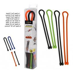 Nite Ize Original Gear Tie, Reusable Rubber Twist Tie, Made