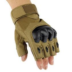 1 Pair Sports Gloves, ADiPROD Hard knuckle Half Finger/Finge
