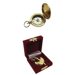 Armor Venue Gold Plated Dalvey Style Compass w/Gift Box Outd