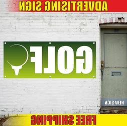 GOLF Advertising Banner Vinyl Mesh Decal Sign SPORT GEAR SHO