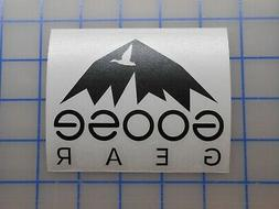 """Goose Gear Sticker 3"""" 4"""" 5.5"""" 7.5"""" Camping Jeep Overland Off"""