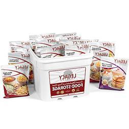 Gourmet Survival Home Food Storage - 120 Large Servings Meal