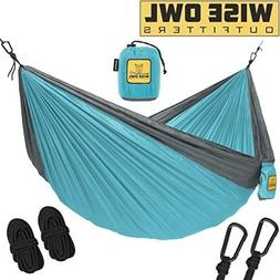Wise Owl Outfitters Hammock for Camping - Single amp Double