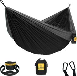 Wise Owl Outfitters Hammock For Camping Single  Double Hammo