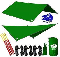 Chill Gorilla 10x10 Hammock Waterproof Rain Fly Tent Tarp 17
