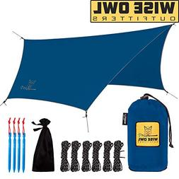 Wise Owl Outfitters Hammock Rain Fly Tent Tarp – The WiseF