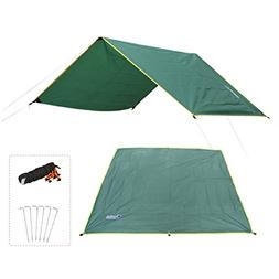 Azarxis Hammock Rain Fly Tent Tarp Ground Cloth Footprint Sh