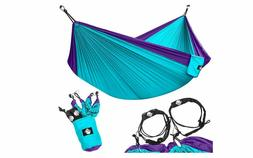 Hammocks Legit Camping Double - Lightweight Parachute Portab