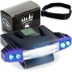 Hat Light Rechargeable LED Headlamp : Best Head Lamp Clip On