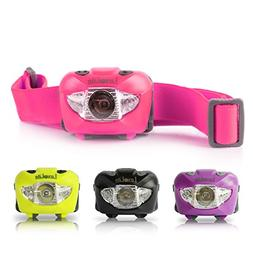LED Headlamp with Red Light - Brightest Head Flashlight for