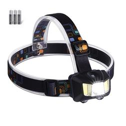 LED Headlamp Headlight 4 Modes Adjustable Water Resistance S